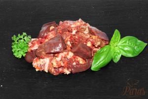 Paras - Rinderleber Menü
