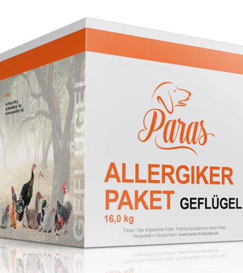 Paras – Allergiker-Paket Geflügel XL